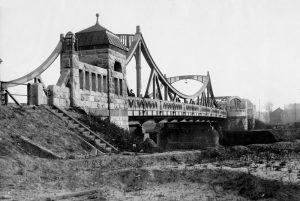 Die Zweigertbrücke in Essen-Karnap, Foto: Archiv, EMSCHERGENOSSENSCHAFT.