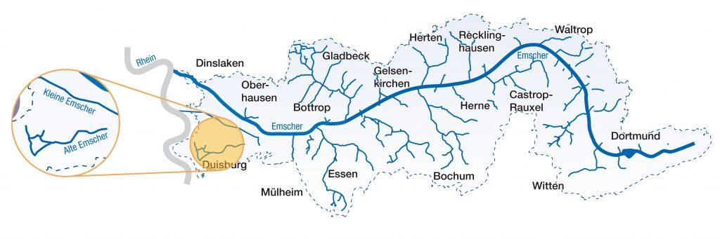 Karte_Emscherdelta