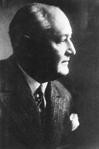Heinrich Helbing schlug 1917 die Gründung des Lippeverbandes vor