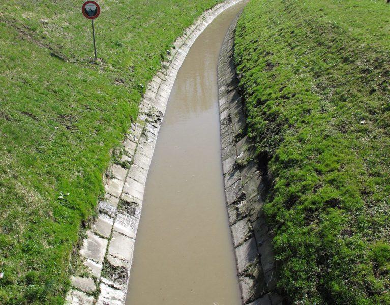 Der Borbecker Mühlenbach und die Wasserralle