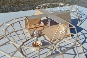 Der Ringdeichpavillon - eine Idee von Observatorium (Rotterdam) und Marion Taube (Dorsten)