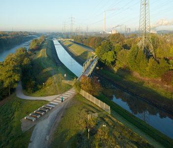 Emscher & Emscher-Weg in Essen-Karnap