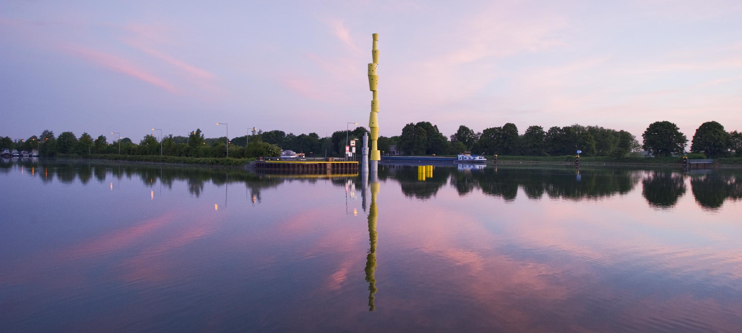"Die Landmarke ""Reemrenreh"" von Bogomir Ecker in Herne"