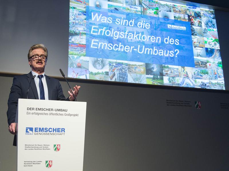 Emscher-Umbau punktet in Berlin!