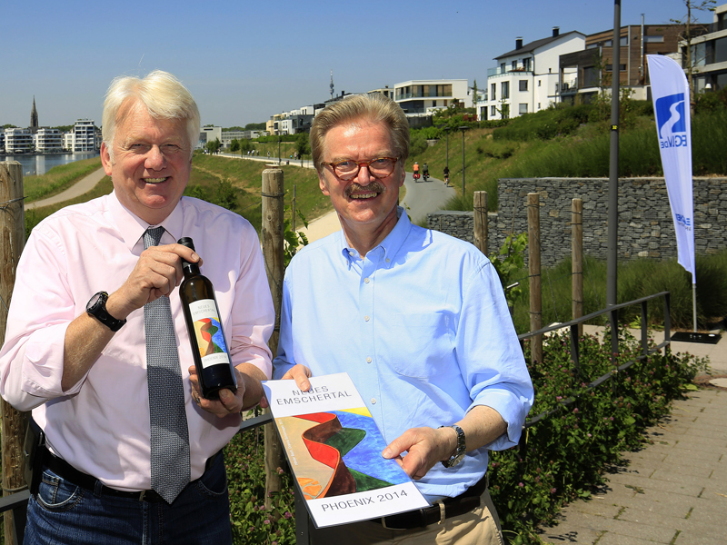 Er ist da: Der erste Weißwein aus dem Neuen Emschertal!