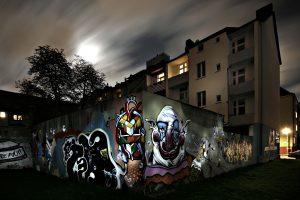 Graffitis im Ruhrgebiet