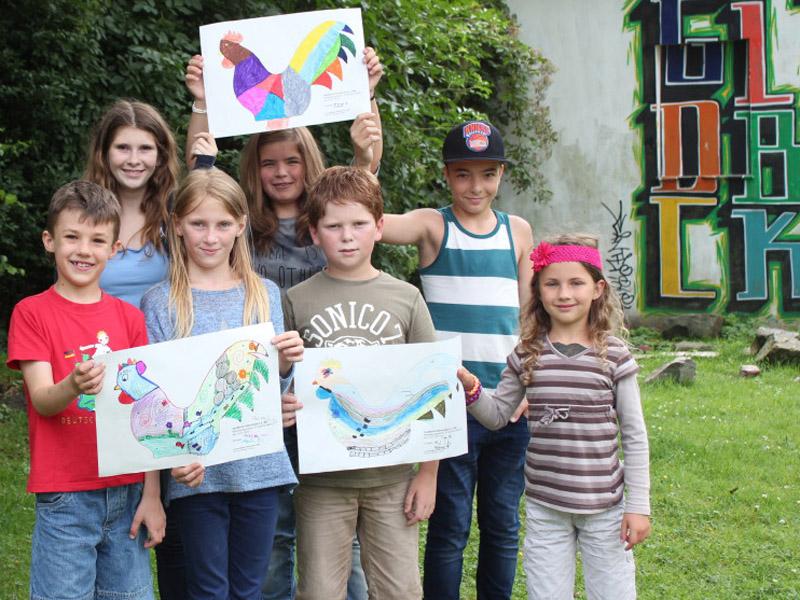 Hahnenbach lässt Kinder kreativ werden