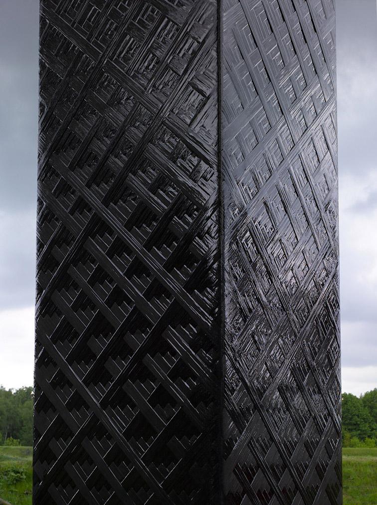 Landmarken der Emscherkunst: Hightech-Obelisk