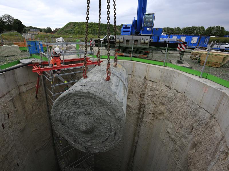 Kanalbau erreicht Meilenstein!
