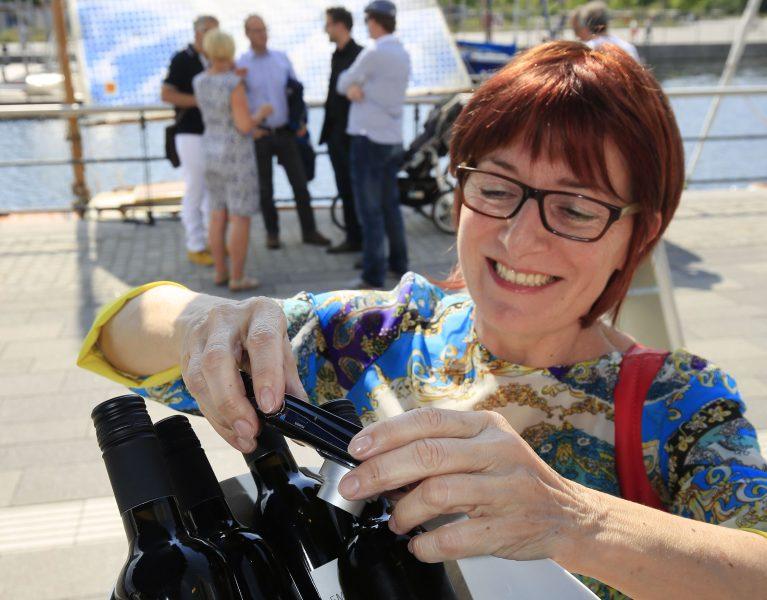 Emscher-Wein: Auktion bringt rund 4000 Euro!