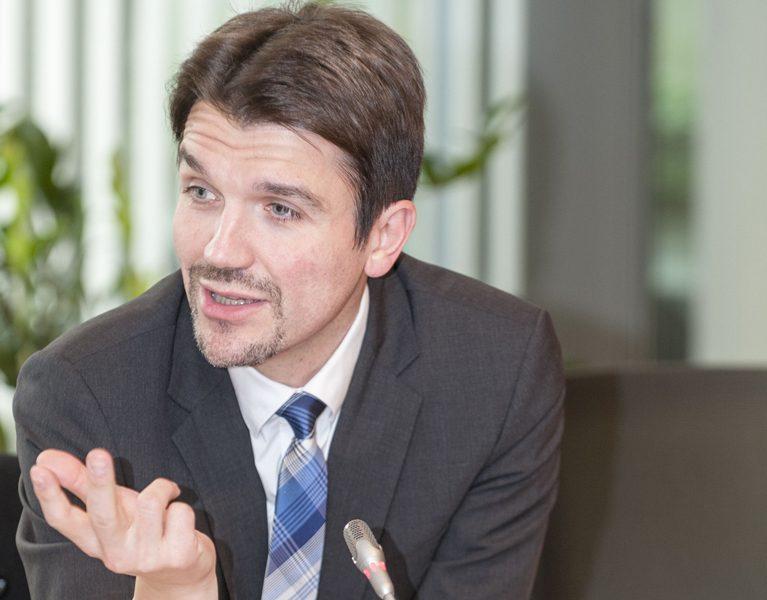 Unser neuer Chef präsentiert den Emscher-Umbau in Brüssel!