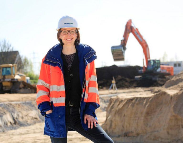 Als Ingenieurin auf einer der größten Tiefbaustellen Deutschlands