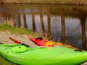 Geschafft - nach 20 km auf der Lippe ist Krudenburg erreicht