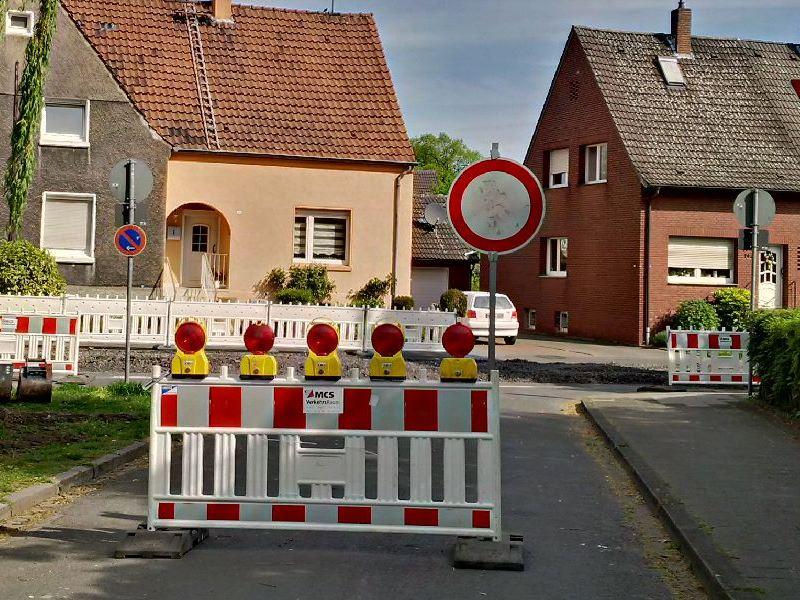 Parken und Durchfahrt verboten – was nun?