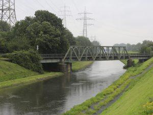 Emscher bei Hochwasser