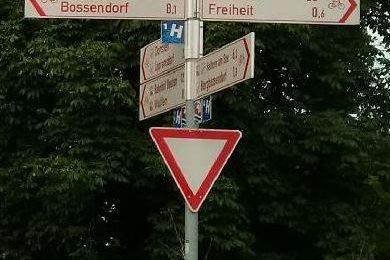 In welche Richtung radeln wir? Foto: Katrin Schnelle