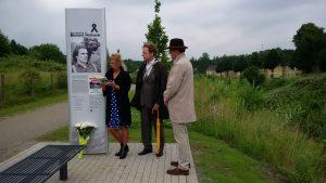 Freda Heyden, Georg und Ludwig Holzach. Foto: Katrin Schnelle