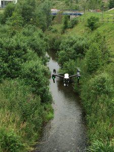 Und das ist die Zicken-Drohne... Foto: Ilias Abawi