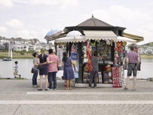 Dortmund oder Venedig? Der Chiosco von Benjamin Bergmann. Foto: Roman Mensing