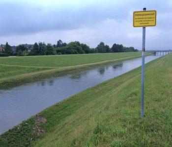Wollen wir mal hoffen, dass es an den Feiertagen kein Hochwasser gibt... Foto: Ilias Abawi