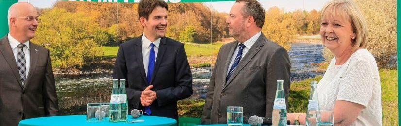 Spatenstich für den Neubau der Lippedeiche Haltern-Lippramsdorf-Marl