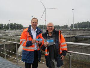 """Dr. Torsten Frehmann und Norbert Schaldach sind """"Emschermenschen""""."""