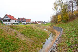 Der Ahbach führt meist nur wenig Wasser... Foto: Emschergenossenschaft