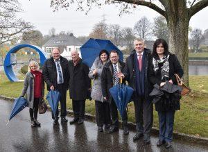 Den Abschluss der Tour bildete ein Besuch unseres Berne-Parks in Bottrop.