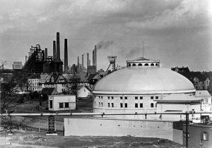 Das Pumpwerk auf einer historischen Aufnahme. Foto: Archiv, Emschergenossenschaft