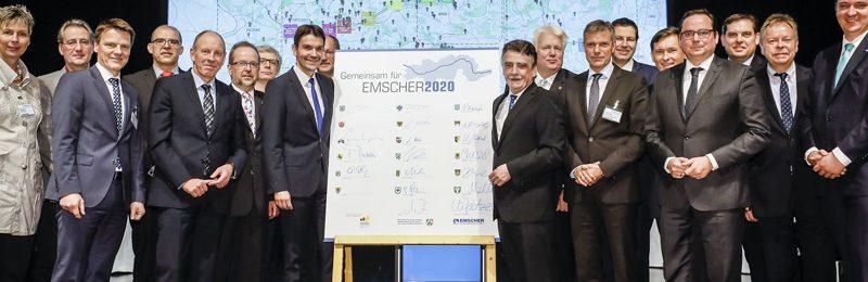 Gemeinsam für Emscher 2020