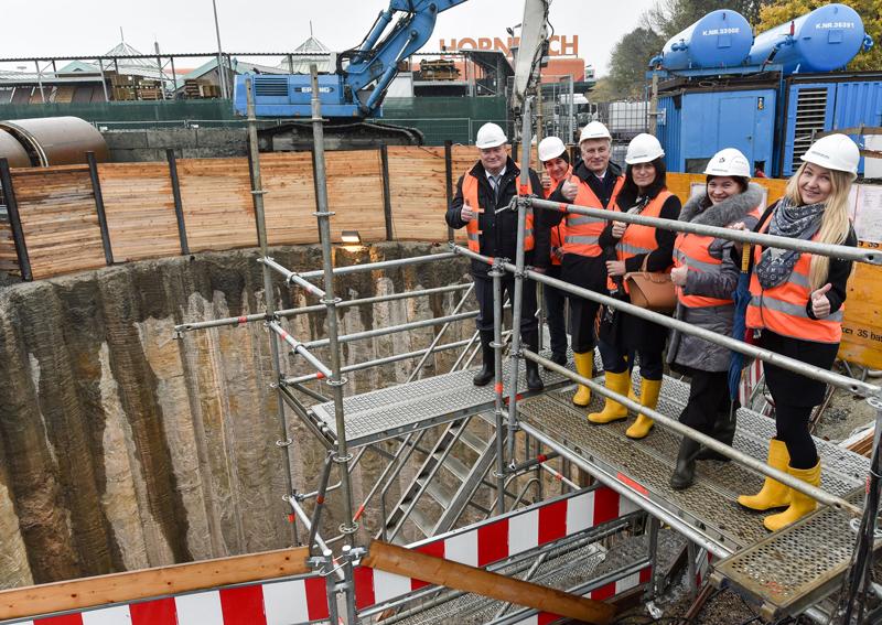 Berne-Baustelle begeistert Besucher!