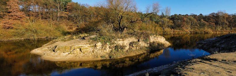 Datteln-Ahsen, Lippe, Fluss- und Auenentwicklung im Naturschutzgebiet Lippeaue am Haus Vogelsang