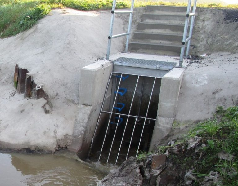 Sicherheit für die Fische am Kortelbach