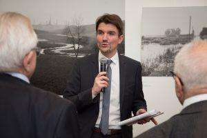 Dr. Uli Paetzel eröffnete die Emscher-Ausstellung in New York vor knapp zwei Wochen. Foto: Nathalie Schueller