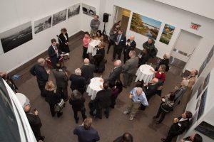 Vernissage in der Deutschen Vertretung bei den Vereinten Nationen. Foto: Nathalie Schueller