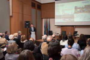 Dr. Uli Paetzel stellte in der Deutschen Vertretung bei den Vereinten Nationen den Emscher-Umbau vor. Foto: Nathalie Schueller