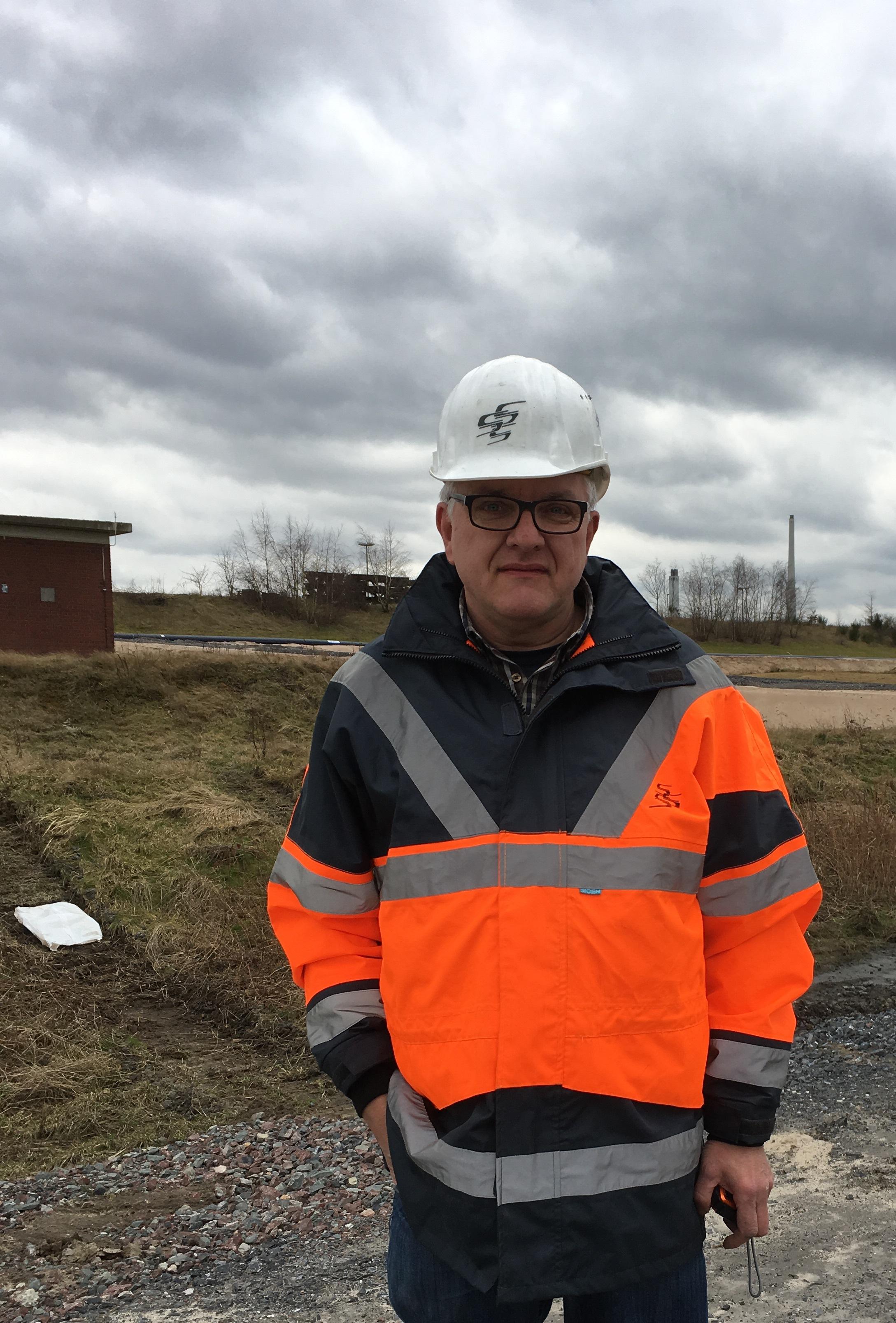 Unser Insider: Bauüberwacher Klaus Wüstenbecker
