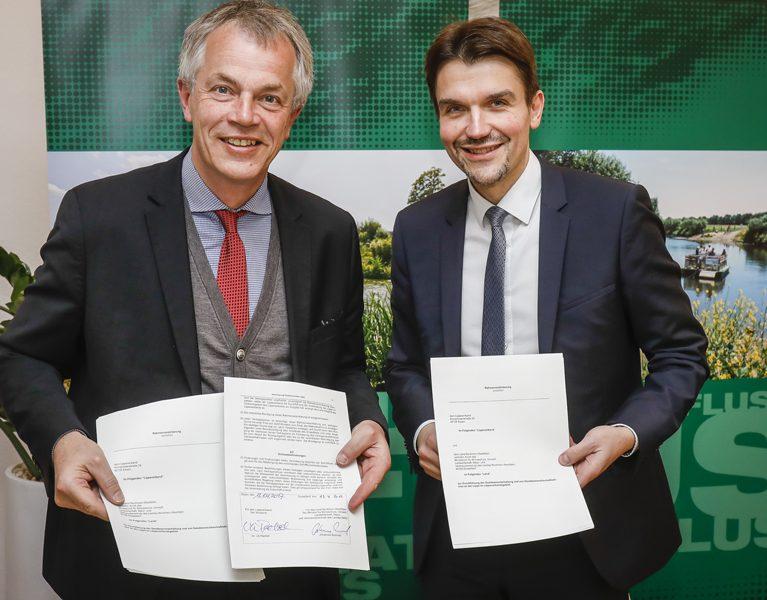 Minister-Besuch an Emscher und Lippe