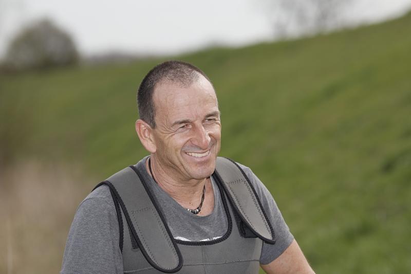 Michael Prill, Fischereibeauftragter des Kreises Unna, wird sich wieder um die Elektrobefischung kümmern. Alle Fotos: Rupert Oberhäuser