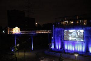 """Unser """"Blaues Pumpwerk"""" im Gelsenkirchener Nordsternpark wird in diesem Jahr ein Spielort der Extraschicht sein. Foto: Jannis Reichard/Emschergenossenschaft"""