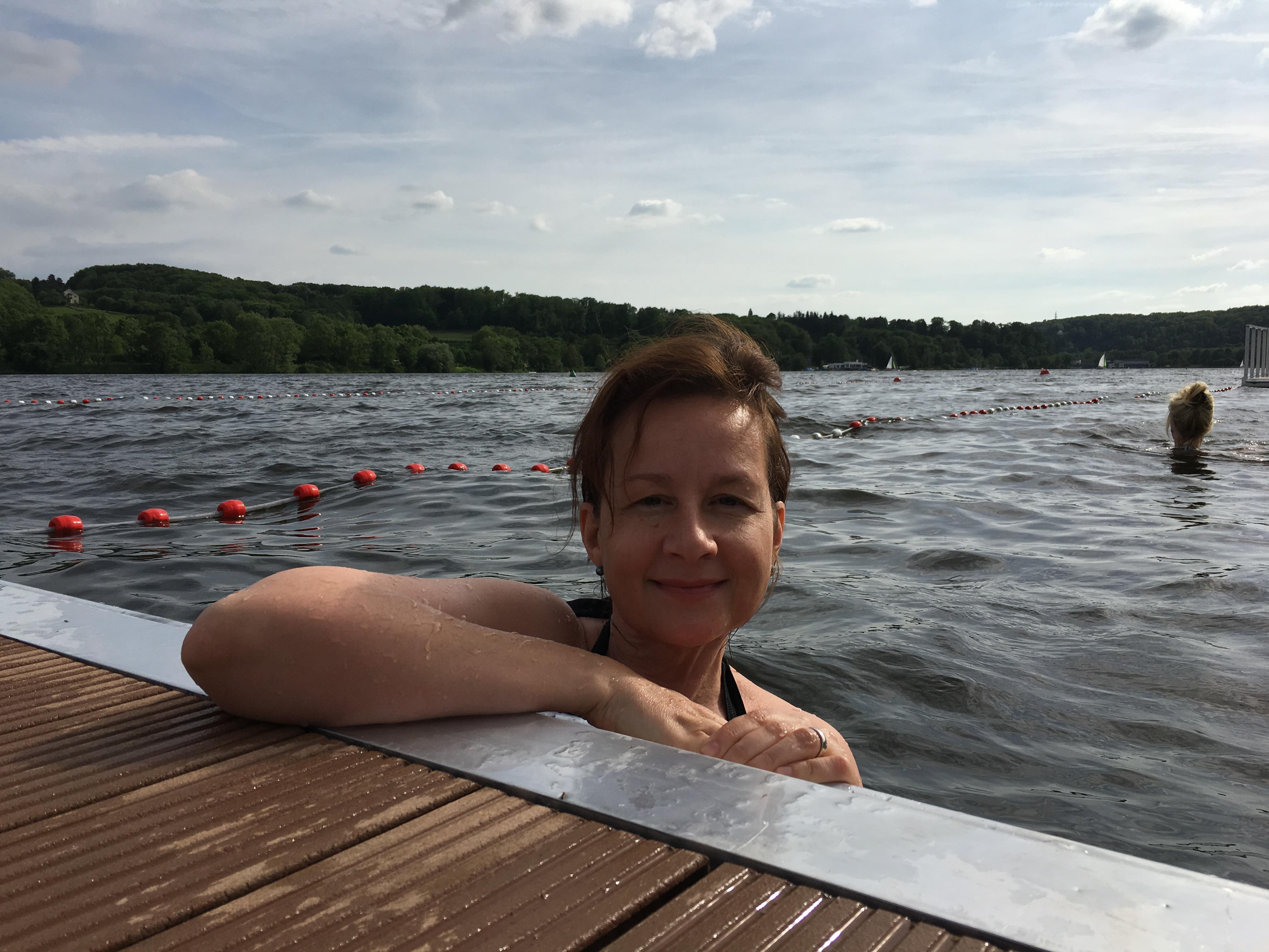 Anschwimmen im Baldeneysee - es lohnt sich!