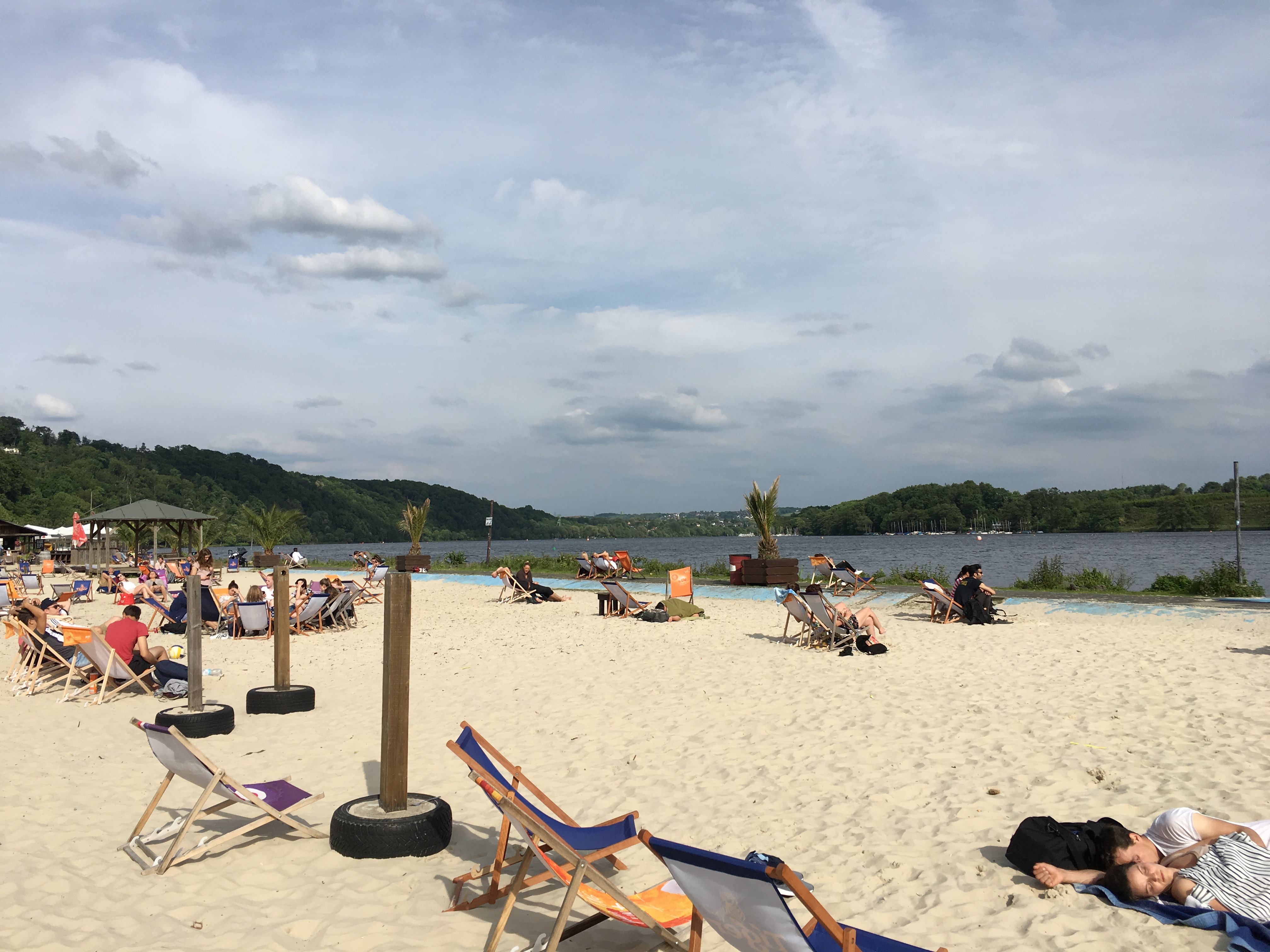 Seaside Beach Baldeney in Essen (alle Fotos: Jan Bender)