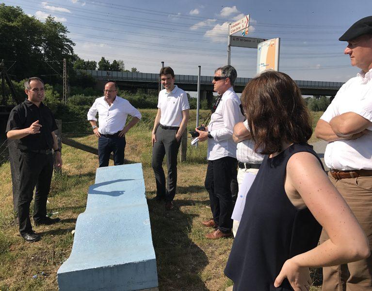 Stuttgarter Interesse am Emscher-Umbau