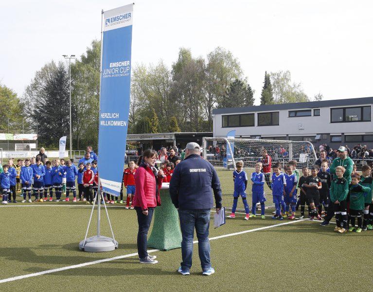 Mehr als Fußball – der Emscher Junior Cup!