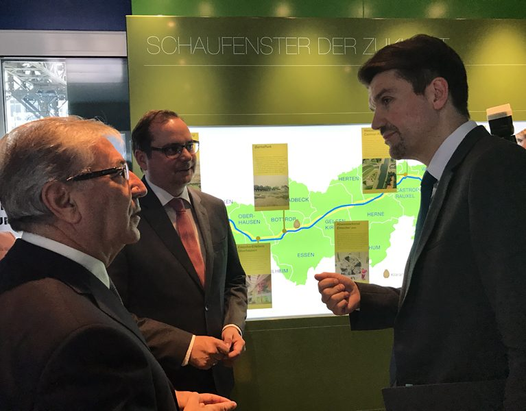 EU-Umweltkommissar besucht Grüne Hauptstadt