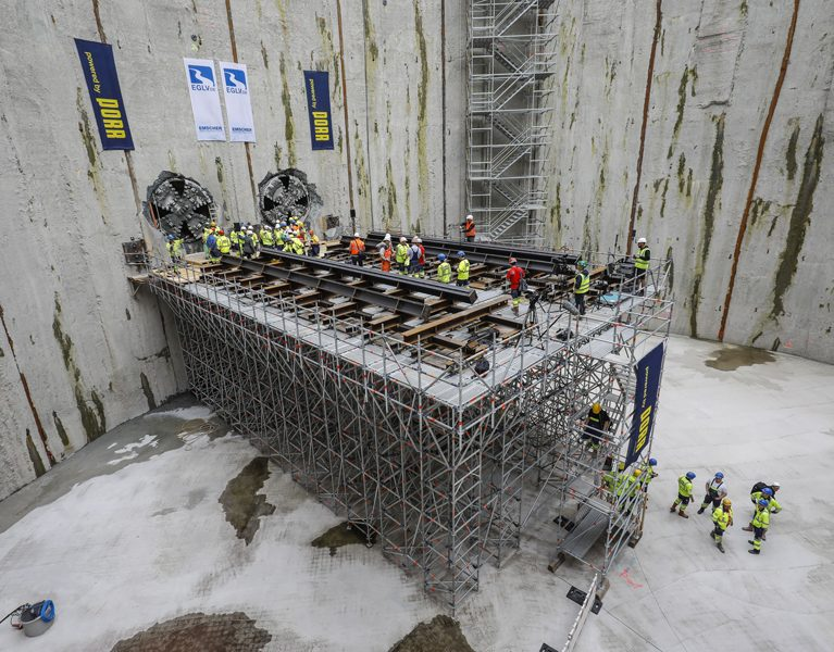 Vortriebsarbeiten für Abwasserkanal Emscher sind beendet!