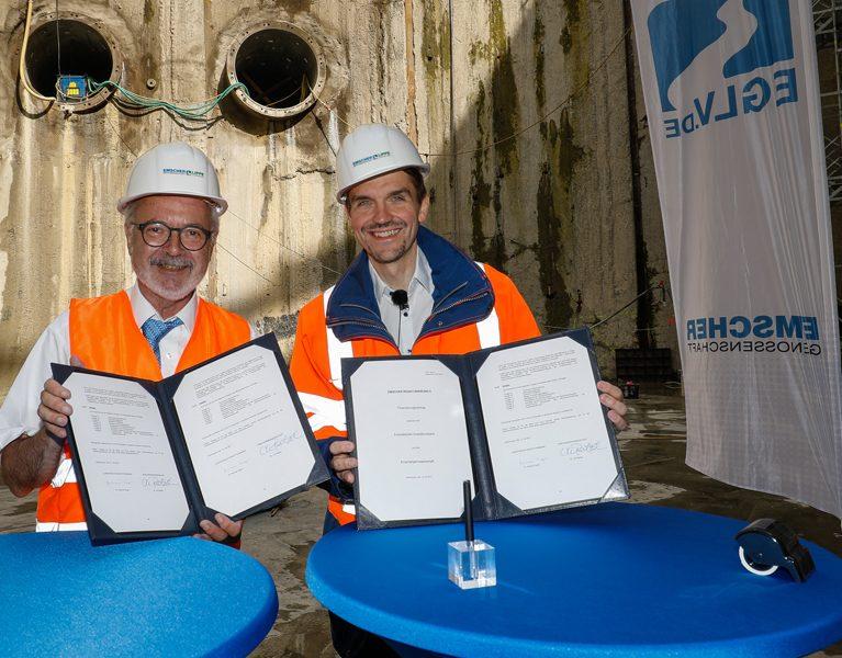 450 Millionen Euro für den Emscher-Umbau