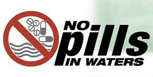 Abgelaufene Tabletten haben nichts im Abwasser zu suchen - sie gehören in den normalen Hausmüll!