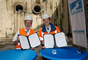 Dr. Werner Hoyer und Dr. Uli Paetzel. Foto: Rupert Oberhäuser/EG