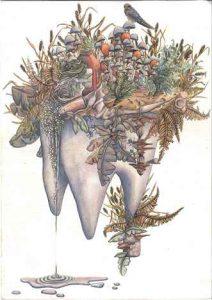 The Tooth Island: Ein Aquarell von Solène Pamart